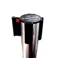 Pedestal Organizador, Demarcador, Divisor Modelo Neon Alumínio Cromado (cx. 3 unid.)