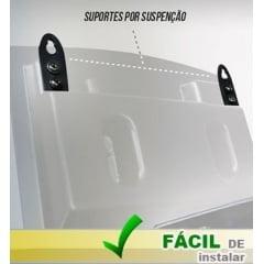 Painel Eletrônico de Senha Digital S-25 24x18 cm Controle Sem Fio Sequencial